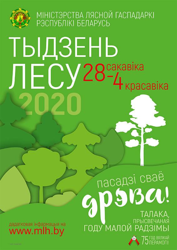 Присоединяйтесь к акции «Неделя леса»