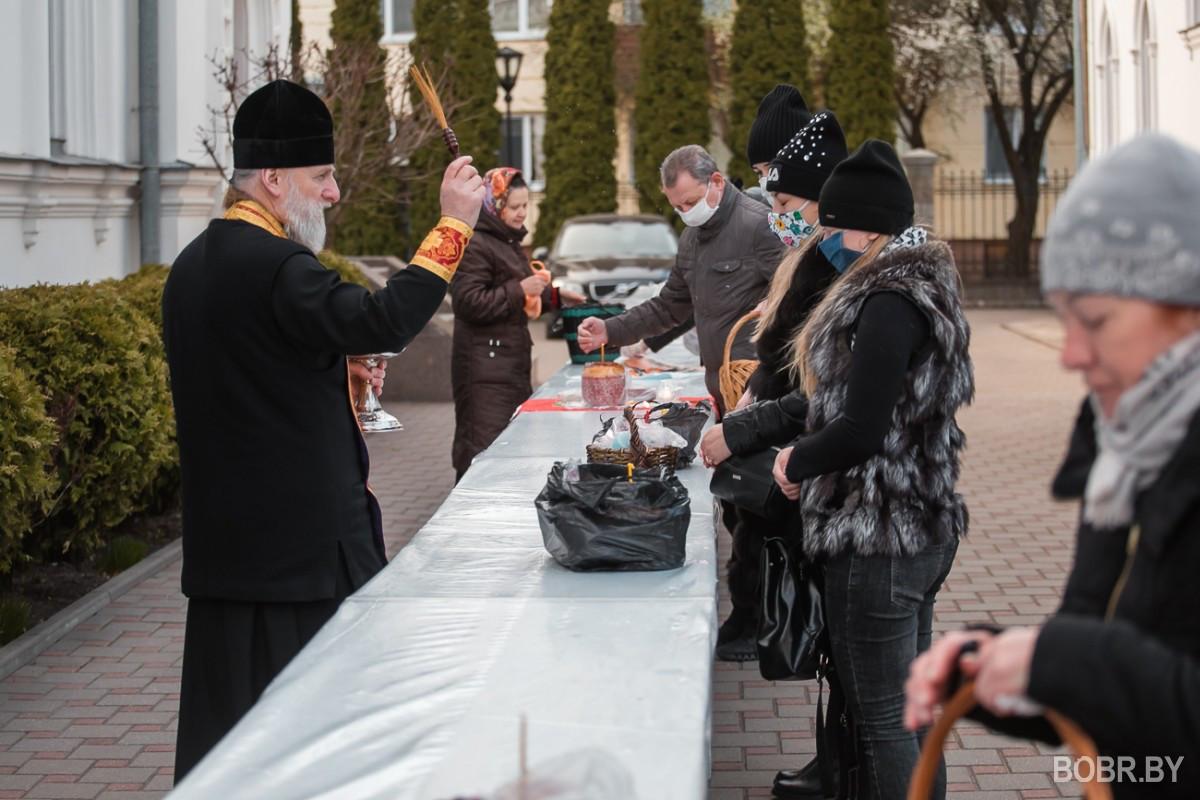 Пасха в Бобруйске 2020