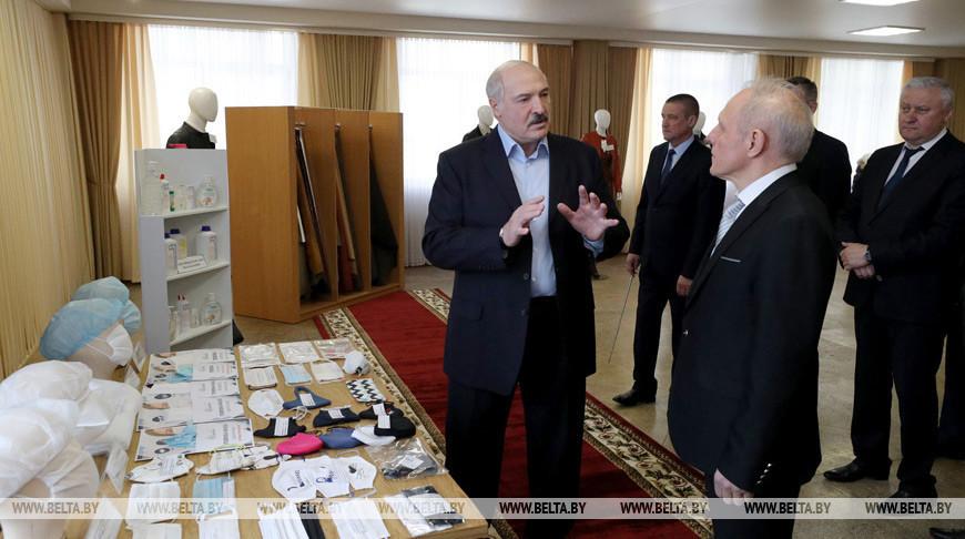 Лукашенко на