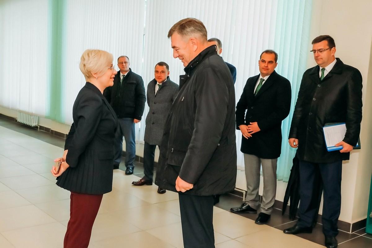Визит заместителя Премьер-министра Республики Беларусь Ю.В. Назарова