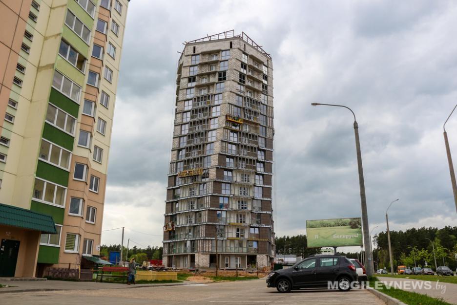 Первый в Беларуси спиральный дом планируют сдать в Могилёве в конце июня