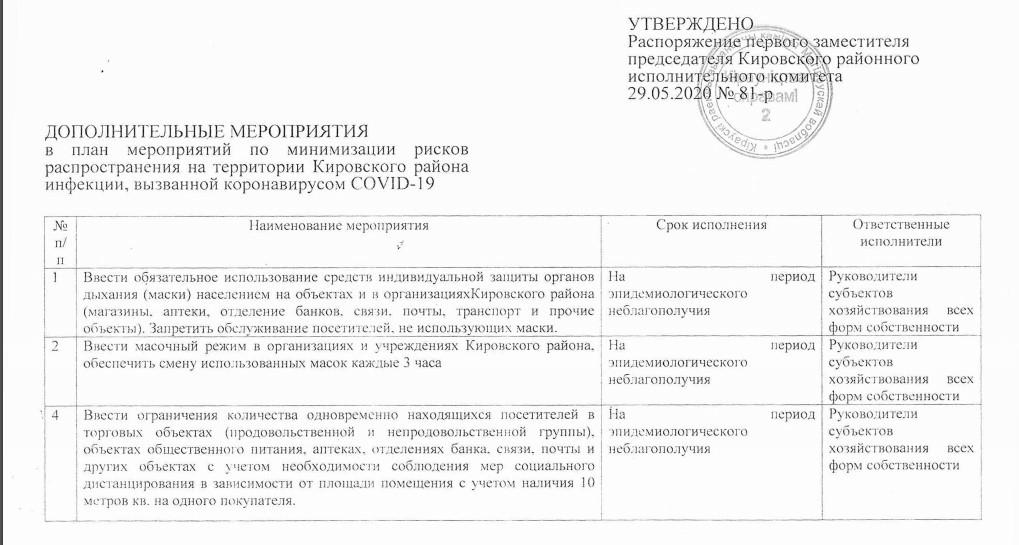 В Кировске ввели масочный режим, рекомендуют не выезжать из района