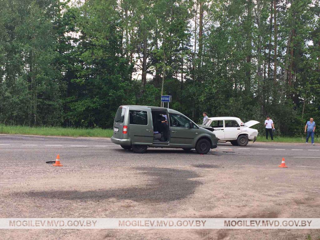 ДТП на трассе Бобруйск-Глуск: пострадала пассажирка