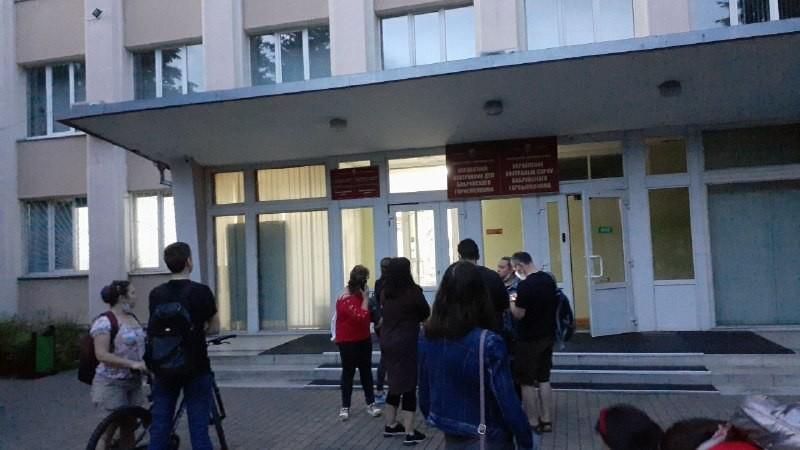 Во время освещения акции солидарности в Бобруйске задержана журналистка BOBR.BY (будет дополнено)