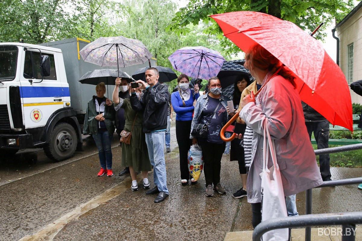 Начался суд над задержанными в Бобруйске во время пикета солидарности (обновляется)