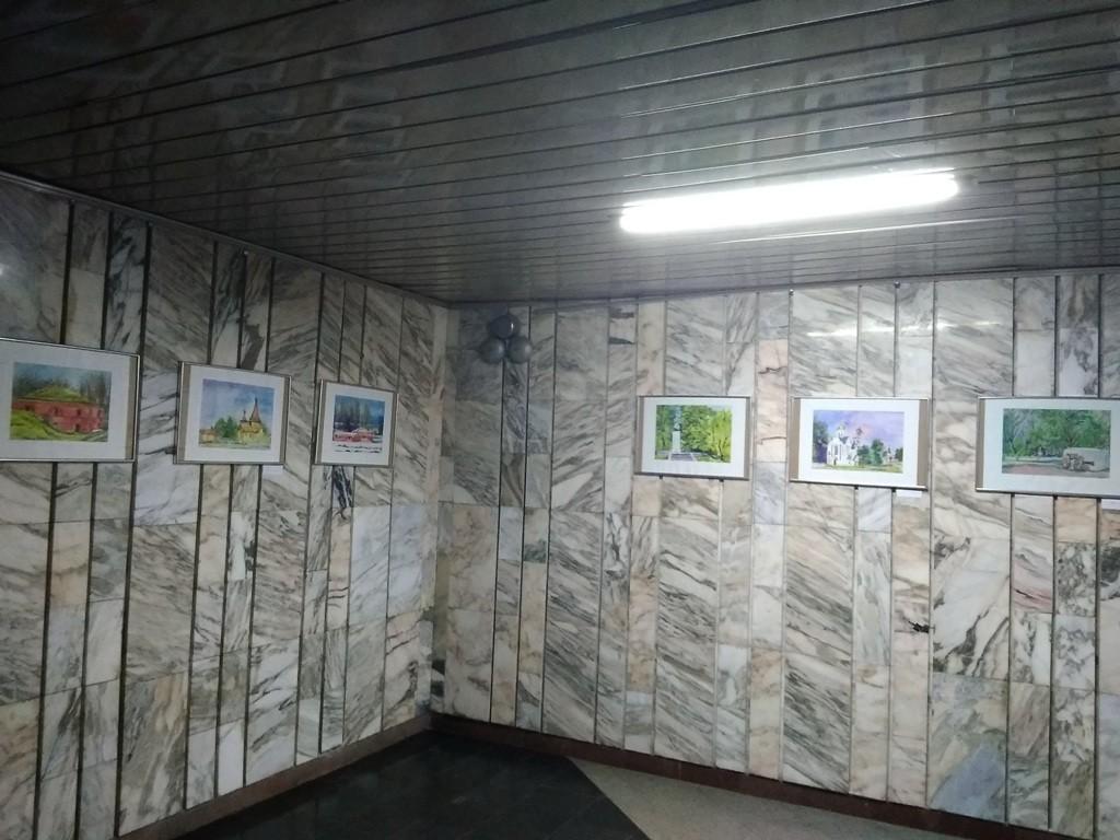 Во Дворце искусств - выставка