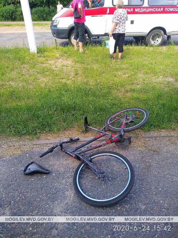 Бобруйчанка за рулём Kia Sportage сбила 11-летнего велосипедиста в Осиповичах