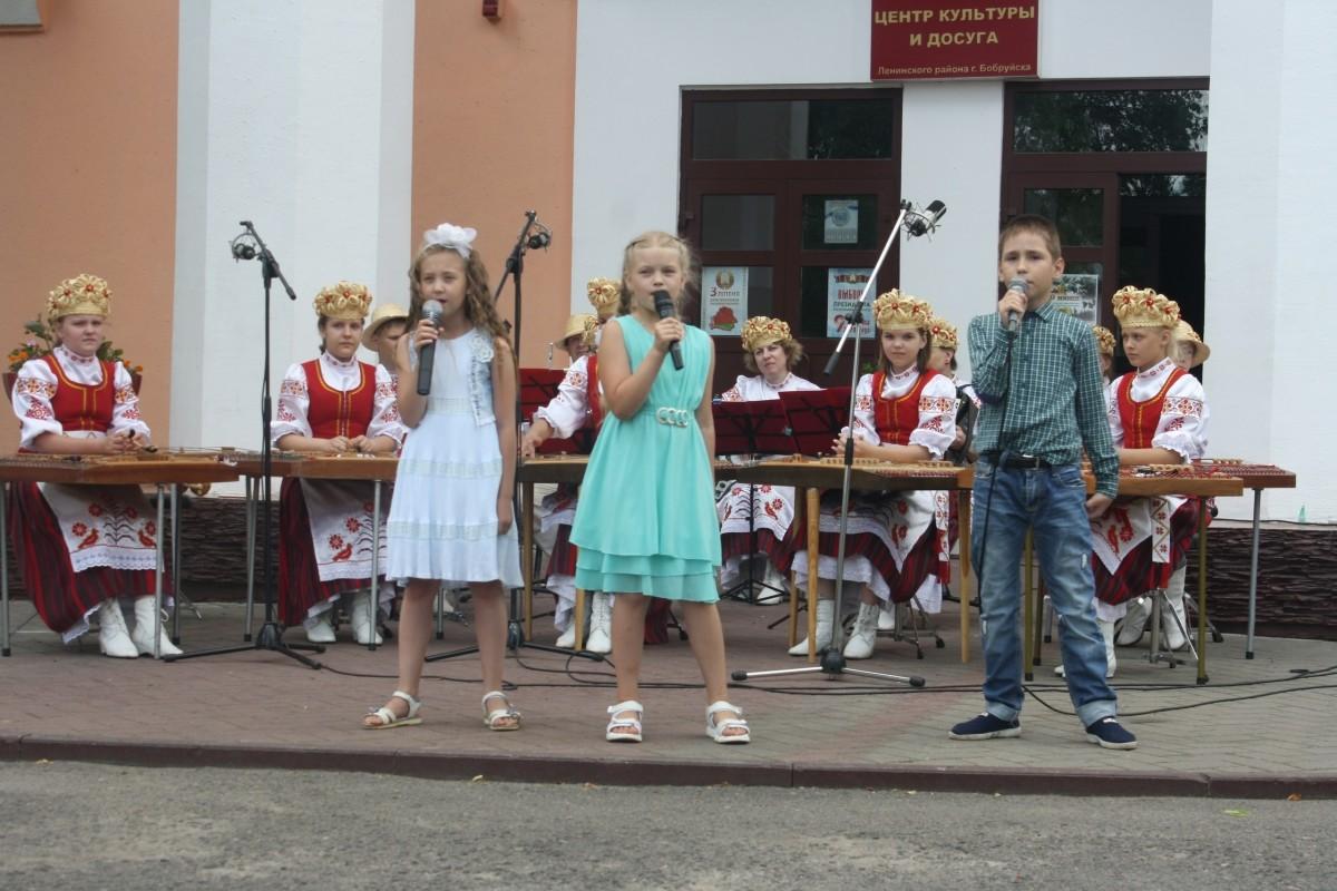 Как на Форштадте отпраздновали День города