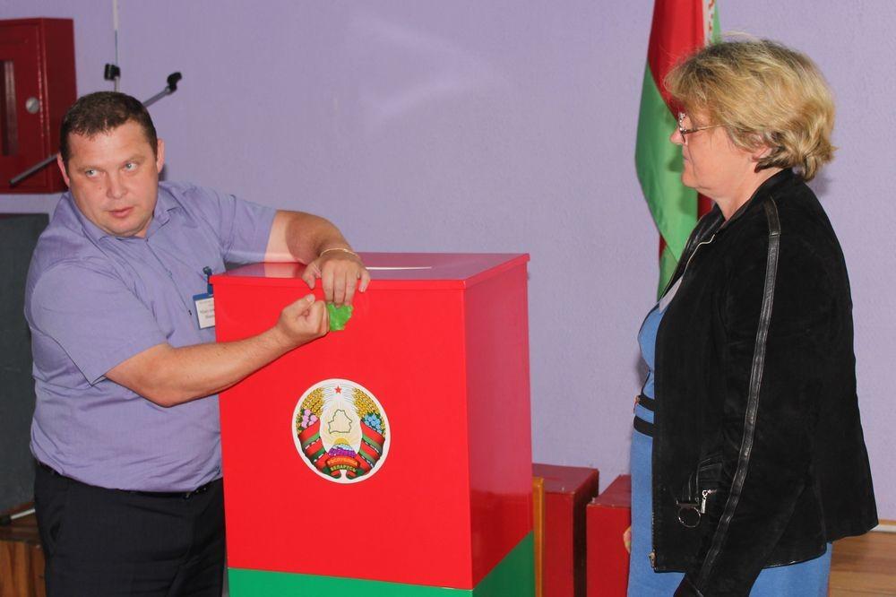 В Бобруйском районе прошла репетиция выборов