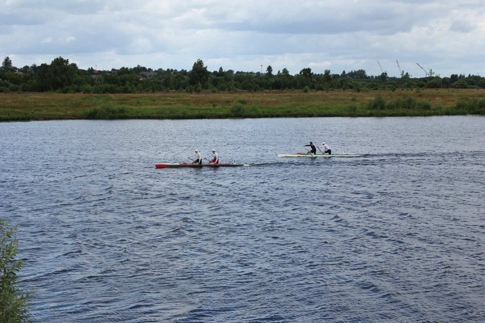 Олимпийские дни молодежи Могилевской области по гребле на байдарках
