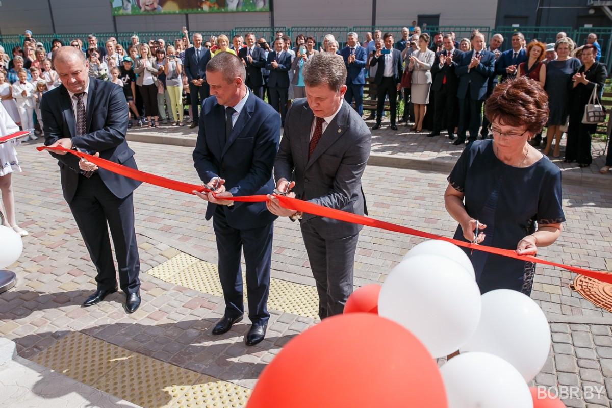 После длительной реконструкции была открыта Бобруйская детская больница