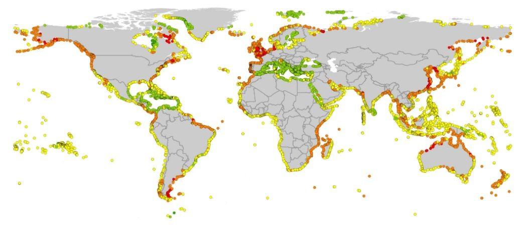 Ученые рассказали, какие участки Земли может затопить к 2100 году