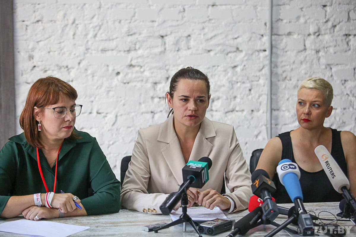 Тихановская: То, что вчера было в Минске, — недопустимо
