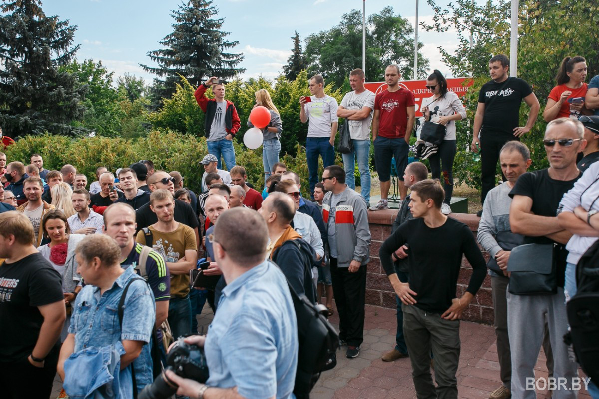 Рабочие завода ОАО
