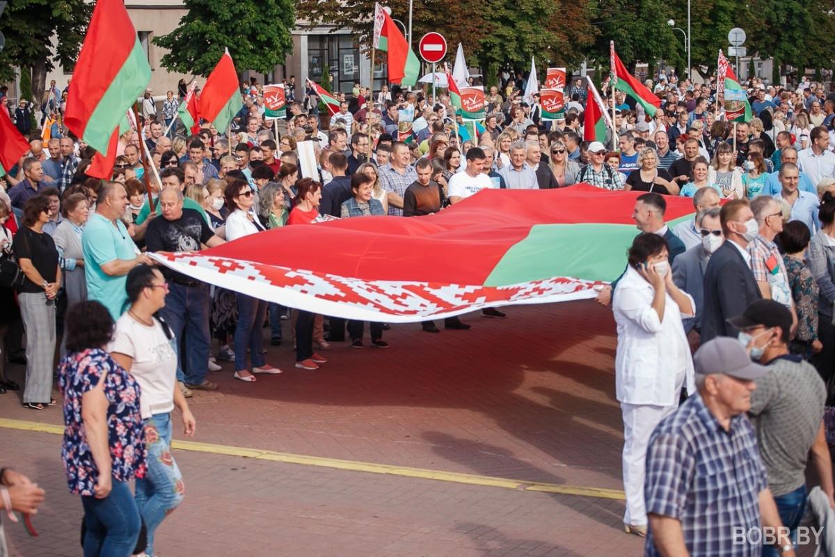 Митинг в поддержку Лукашенко (фото, стрим VALIDOL)