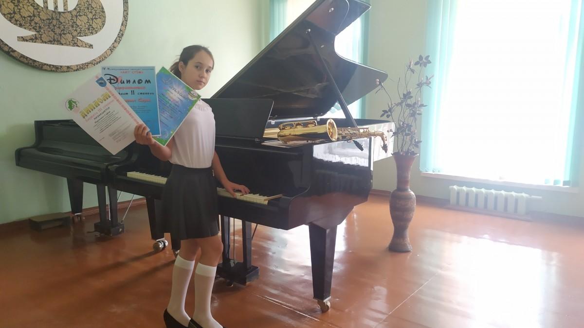 Две бобруйские саксофонистки стали призерами нескольких международных конкурсов