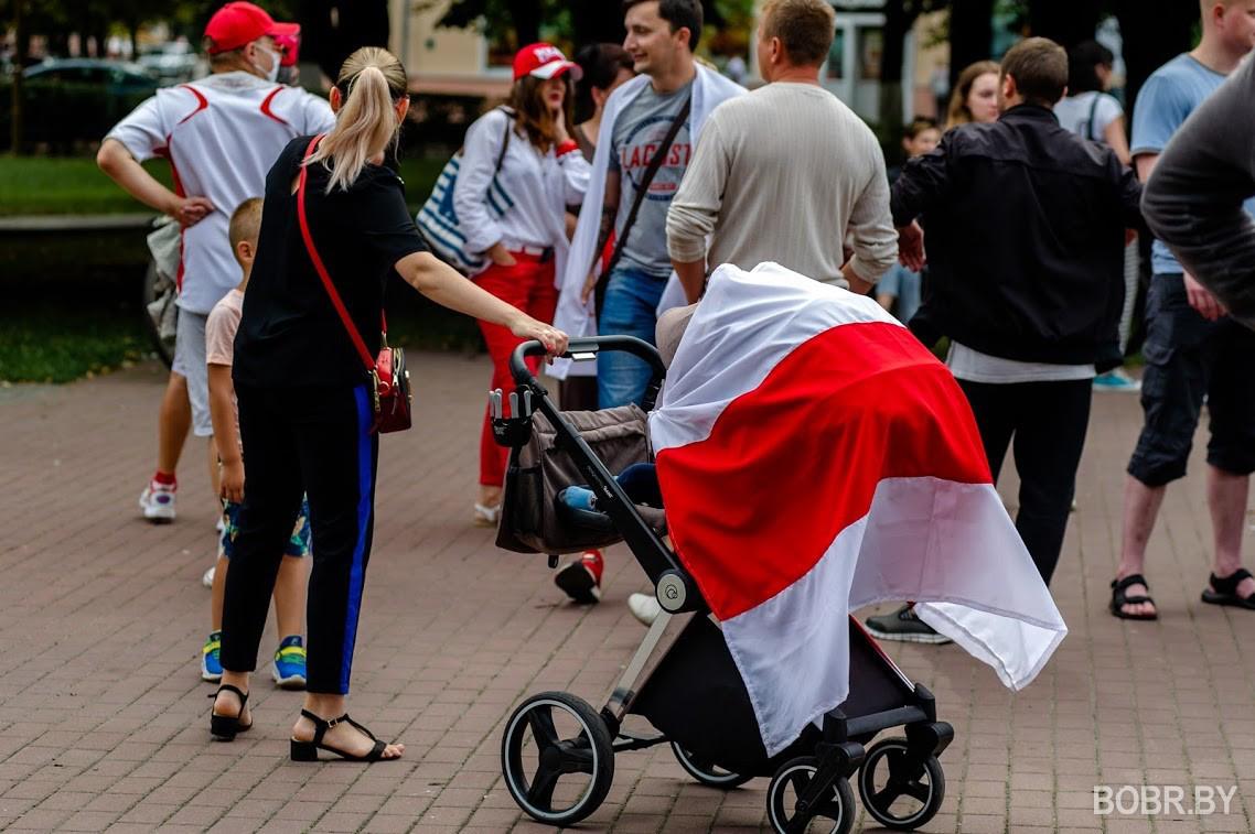 В Бобруйске прошла очередная акция протеста