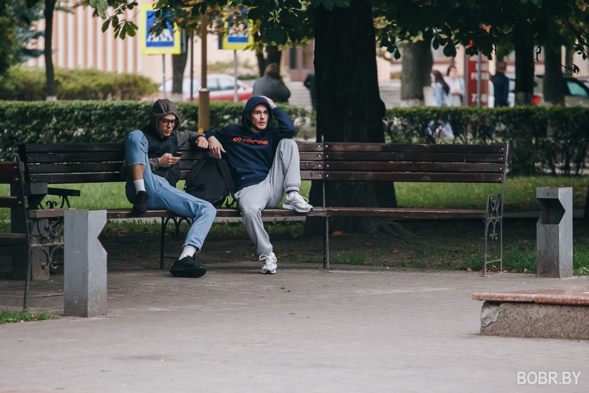 Фотопрогулка по Бобруйску: осенние вечера и