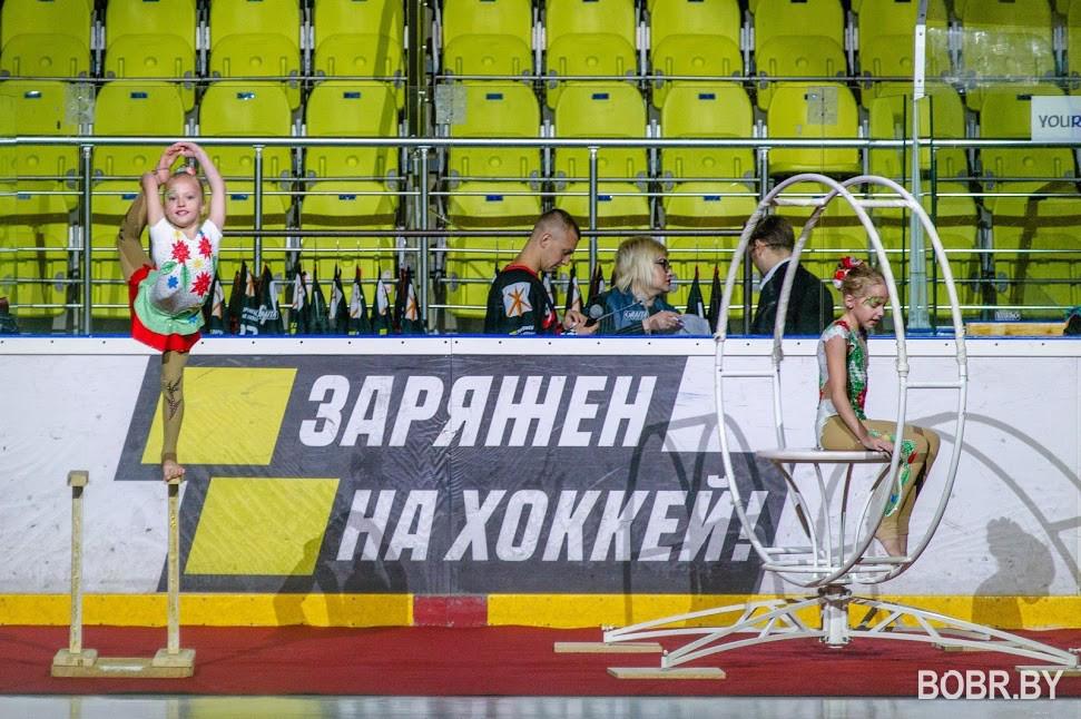 """Хоккейный Клуб """"Бобруйск"""" провёл презентацию команды Высшей лиги"""