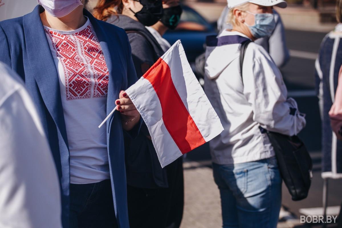 В Бобруйске состоялся марш справедливости