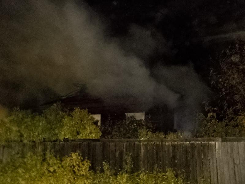 В Бобруйске горел дом