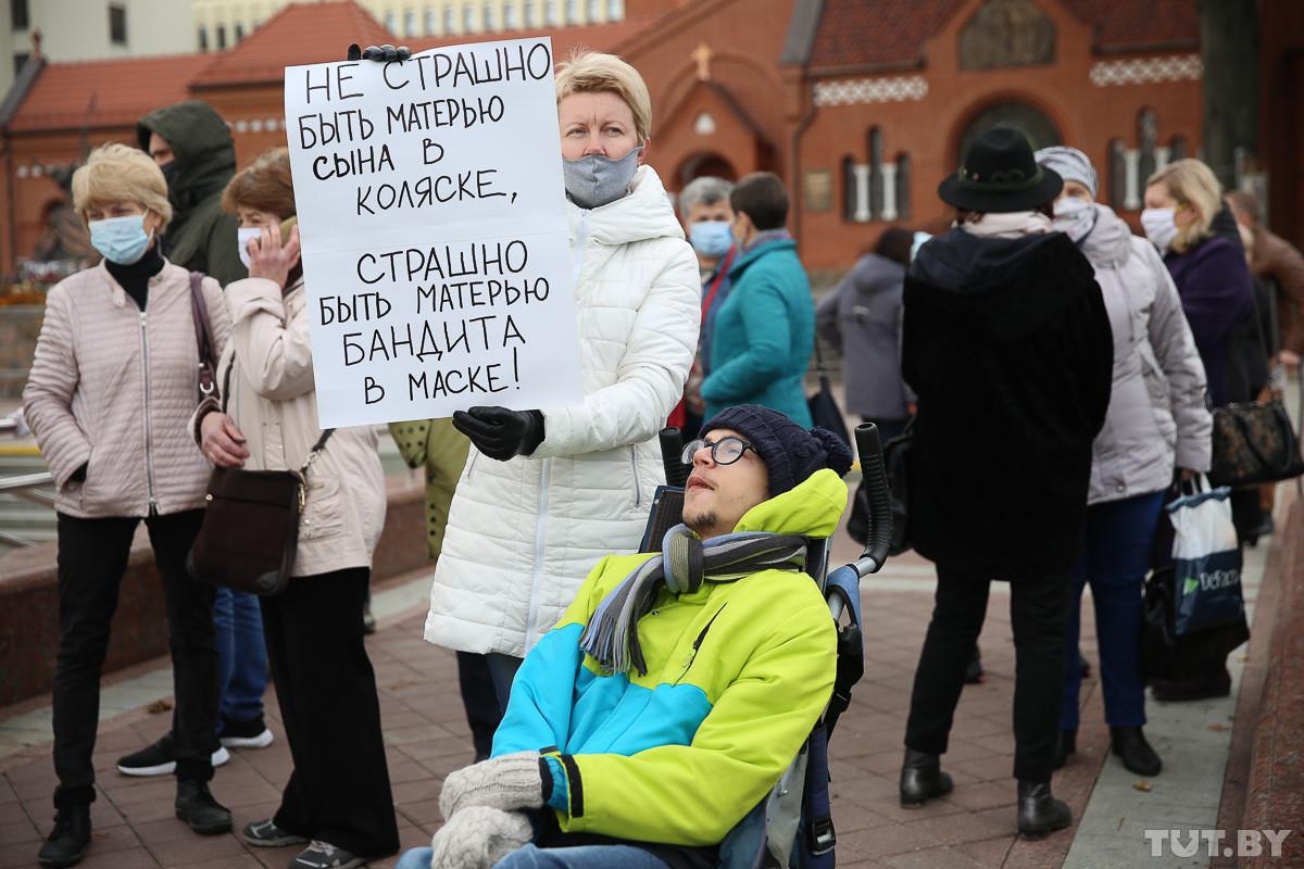В Минске прошел марш людей с инвалидностью. Не обошлось без задержаний
