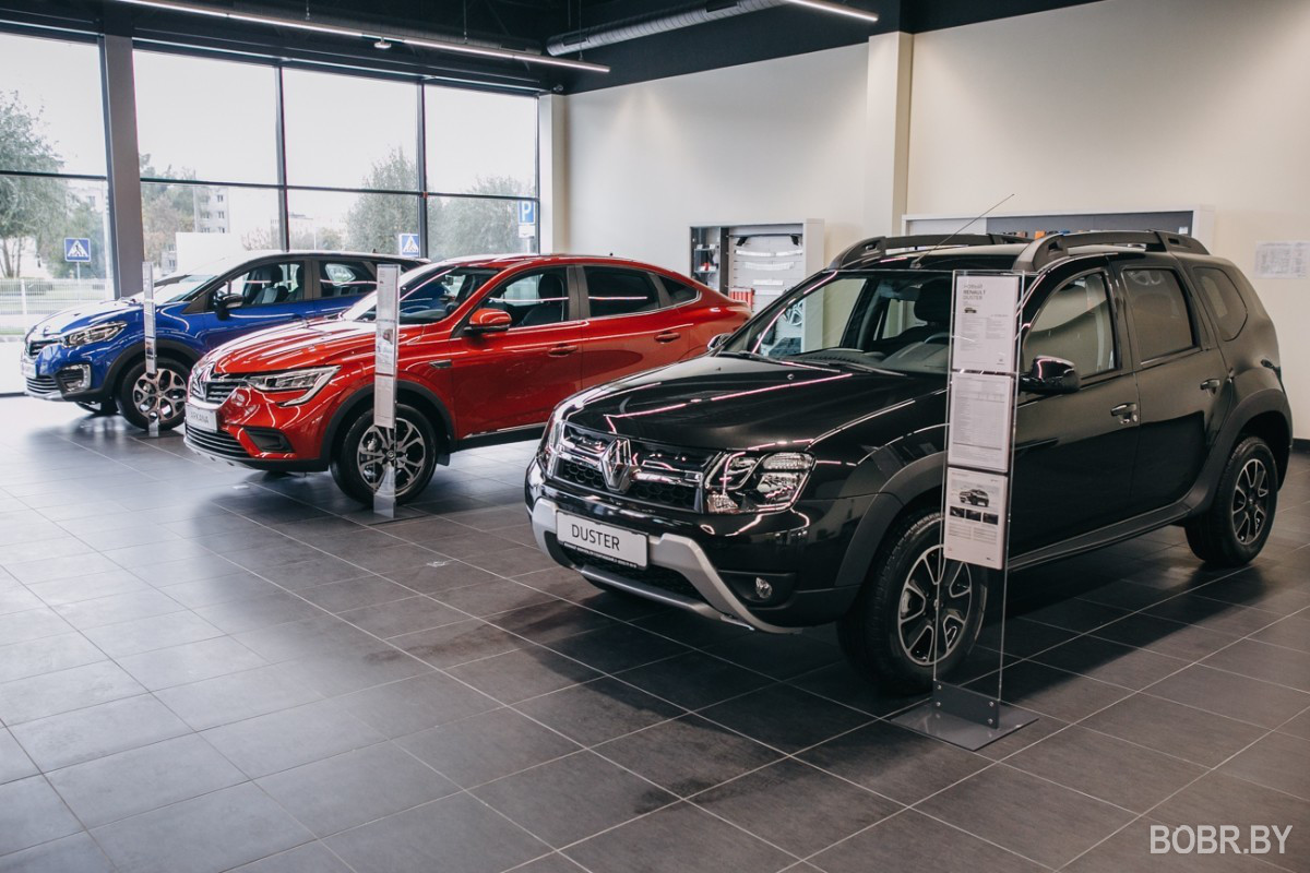 В Бобруйске открылся первый в Беларуси мультибрендовый автосалон