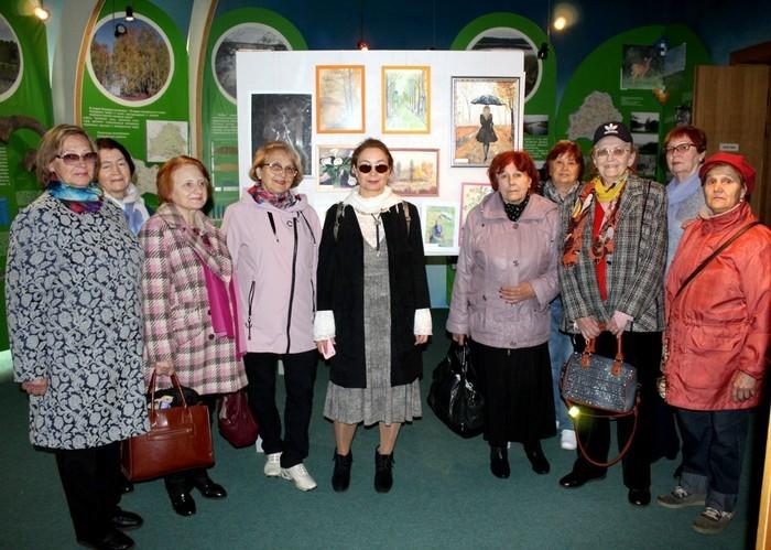 В Бобруйском краеведческом музее открылась выставка «Оттенки настроения»