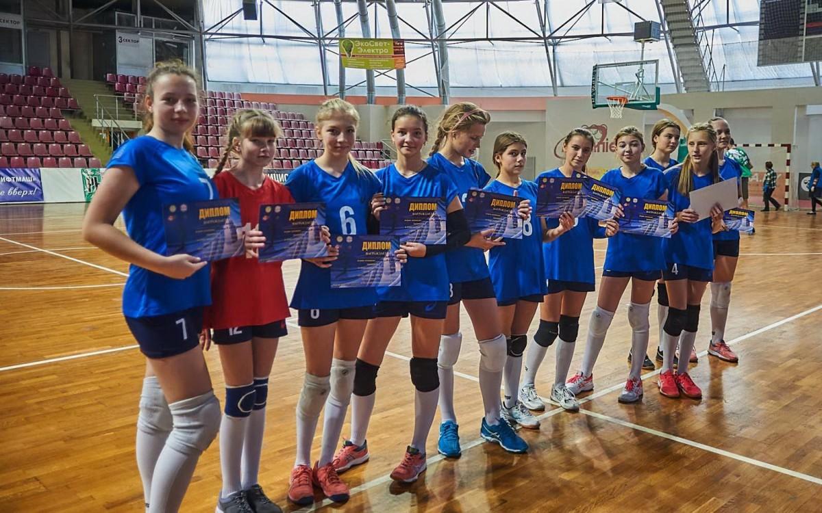 Бобруйская команда заняла первое место на первенстве Могилевской области по волейболу среди девушек