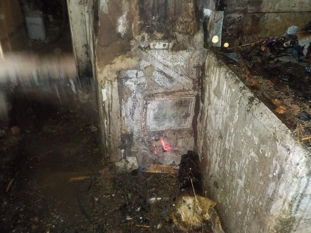 Пожар в деревне Забудьки: горел дом