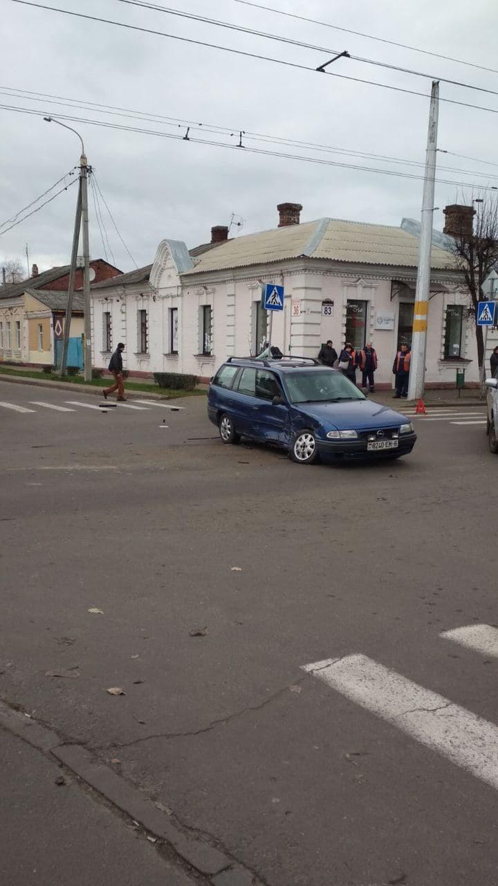 В Бобруйске произошла серьезная авария. Фотофакт
