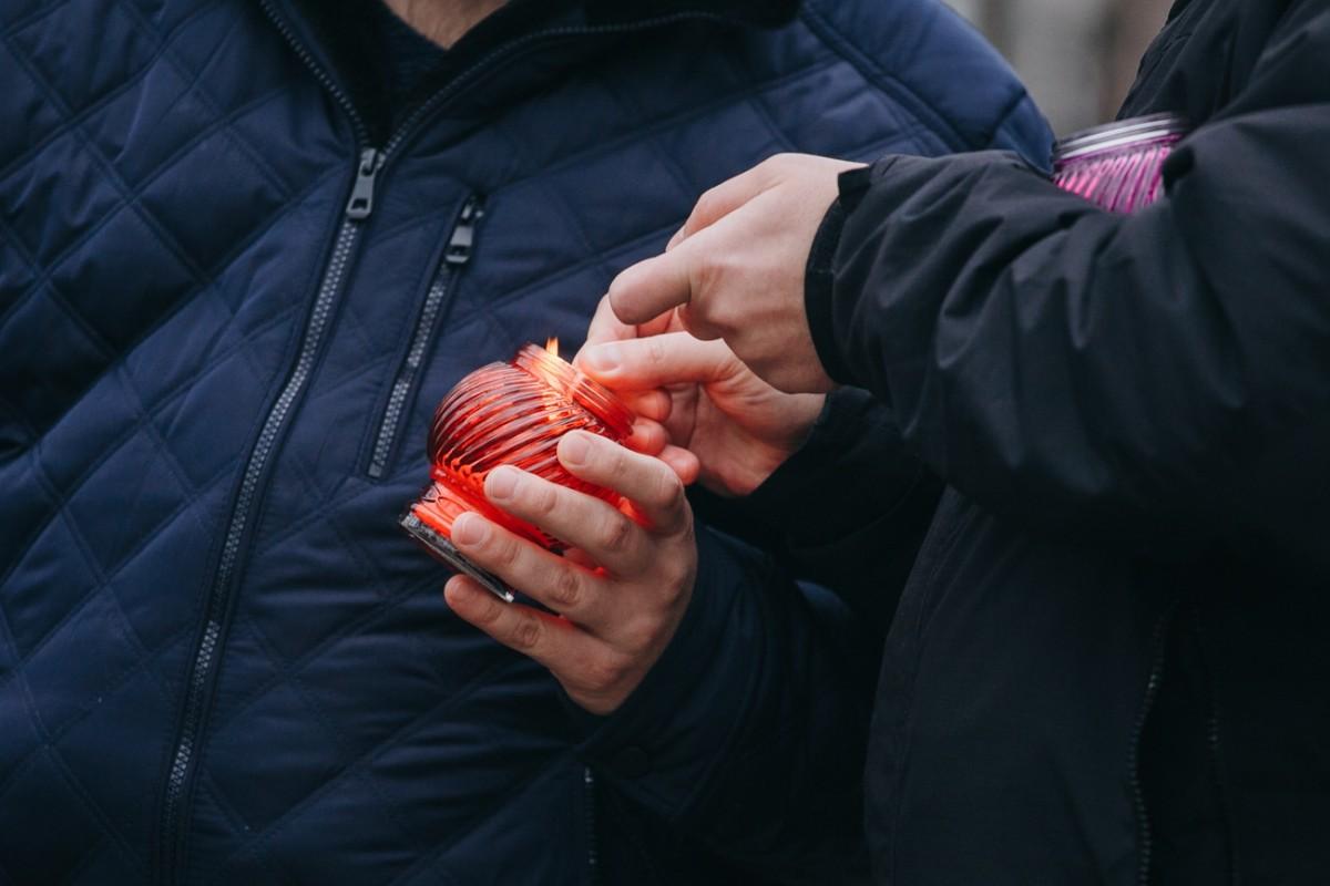 В Бобруйске почтили память Романа Бондаренко