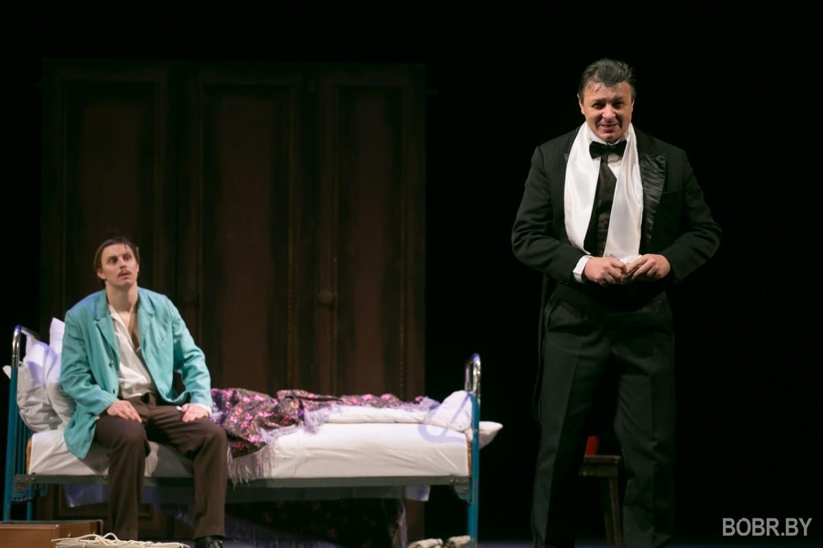 """""""Покойник здесь проживает?"""" В Бобруйском театре имени В. И. Дунина-Марцинкевича прошла премьера спектакля """"Самоубийца"""""""