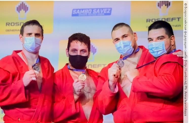 Медали высшей пробы завоевали бобруйские спортсмены на чемпионате мира по самбо