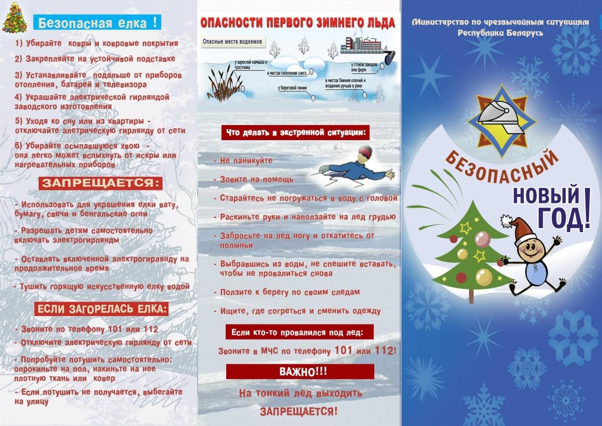 В Бобруйске пройдет акция «Безопасный Новый год»