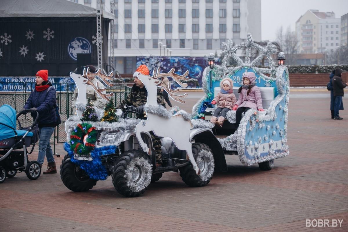 Рождественская прогулка по городу: что делали бобруйчане в праздник Рождества Христова?
