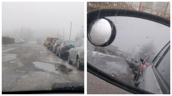 Стоят по 6 часов. В Могилевской области — длинные очереди автомобилей на техосмотр