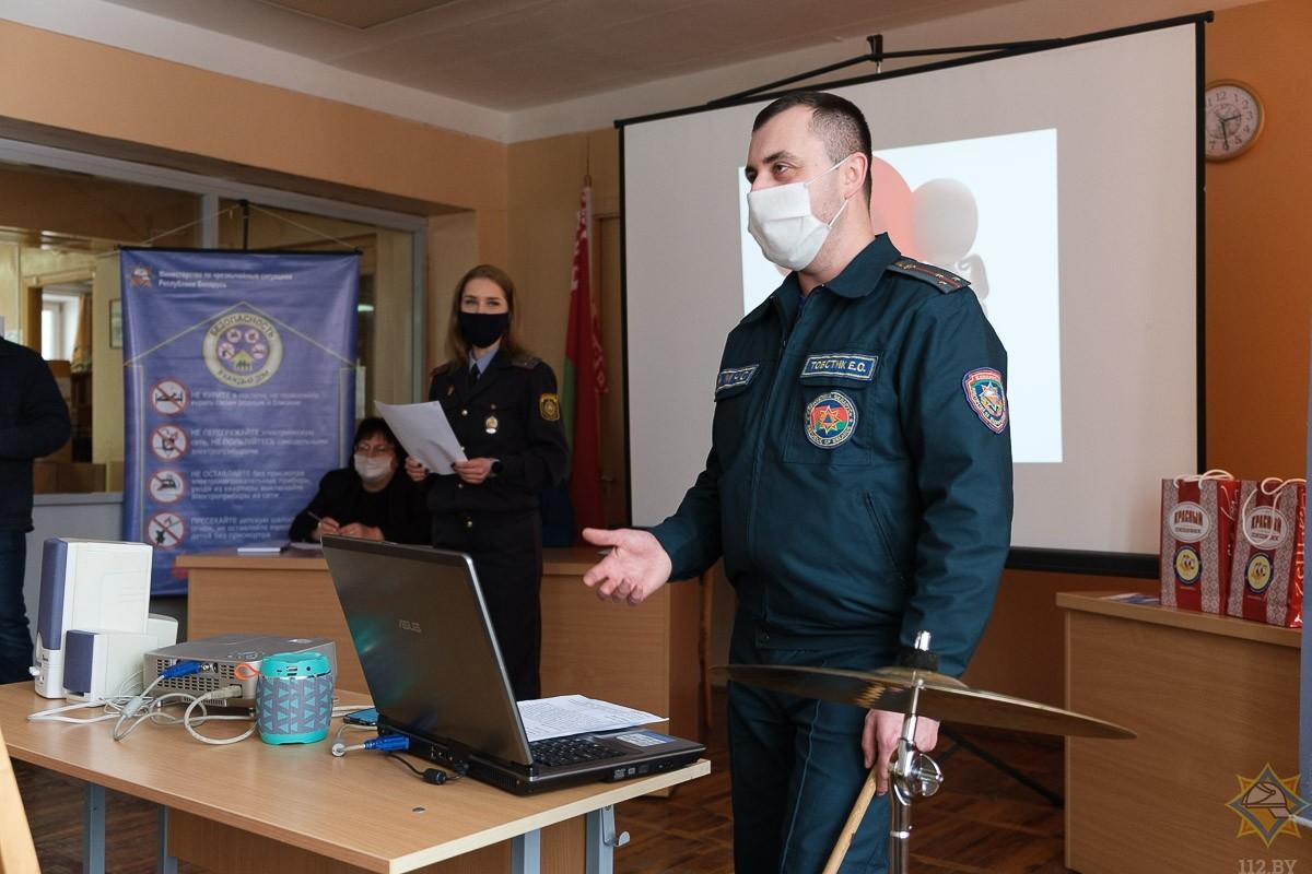 В Бобруйске состоялся брейн-ринг «За безопасность».