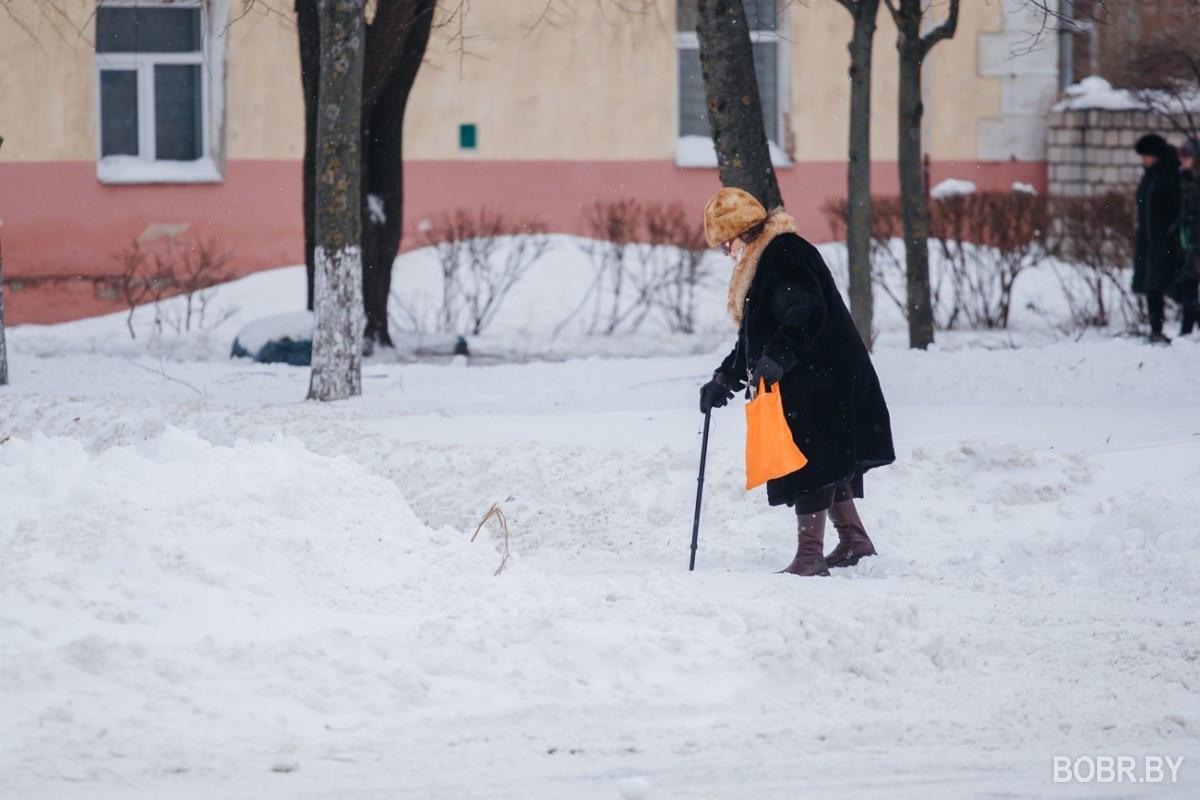 Покоряем сугробы и восстанавливаем город после снегопадов. Фотопрогулка
