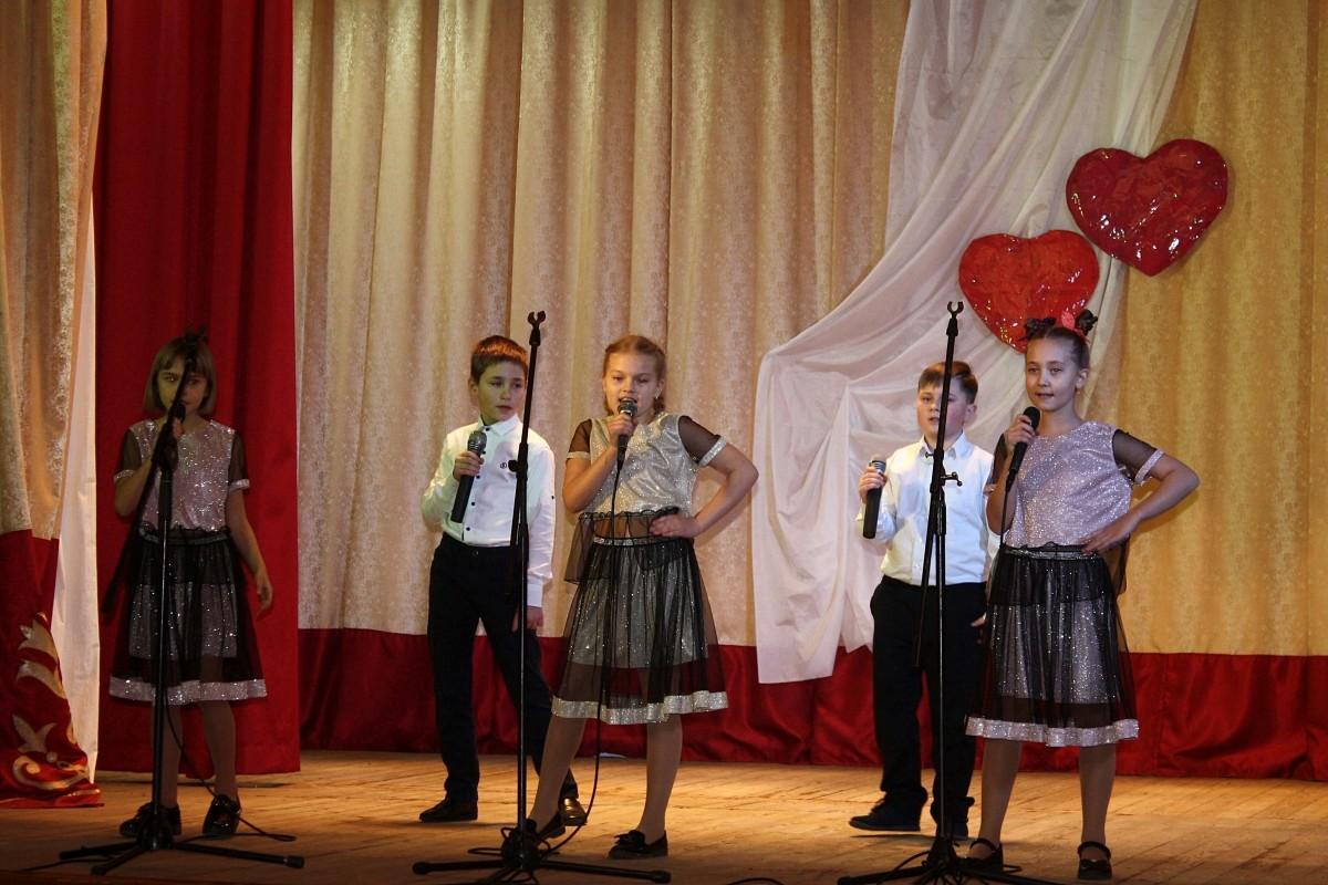 В Бобруйске прошел концерт, посвященный Дню всех влюбленных