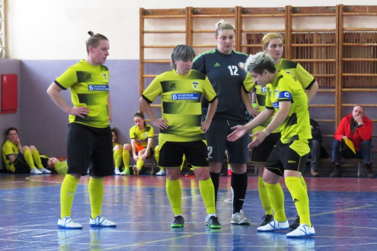 «Бобруйчанка» завоевала медали на IV чемпионате Беларуси по мини-футболу
