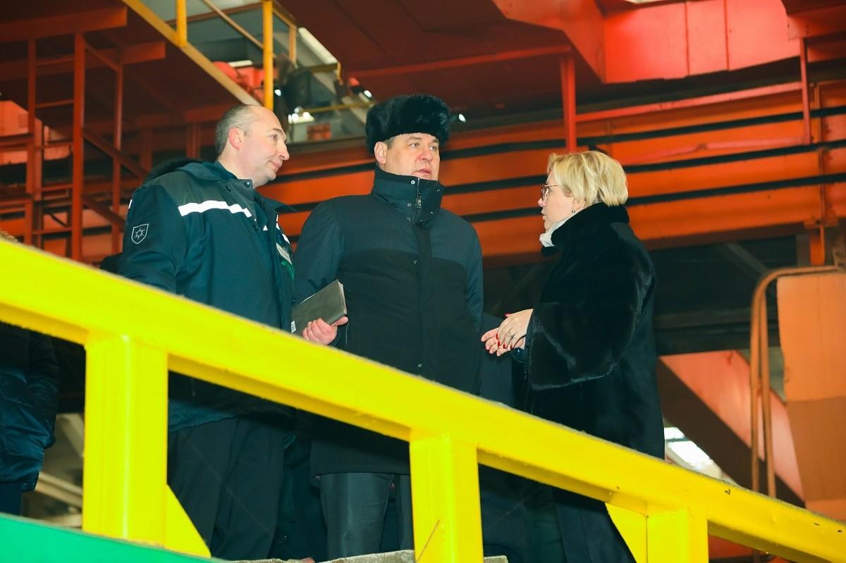 Премьер-министр Беларуси посетил «Бобруйскагромаш»