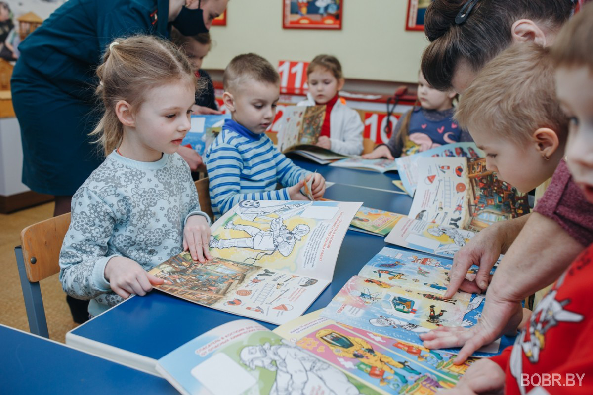 В детском саду №60 открыли комнату безопасности