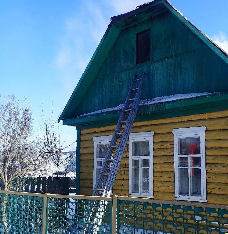 В Бобруйске на пожаре погиб мужчина. Его нашли под прогоревшим полом