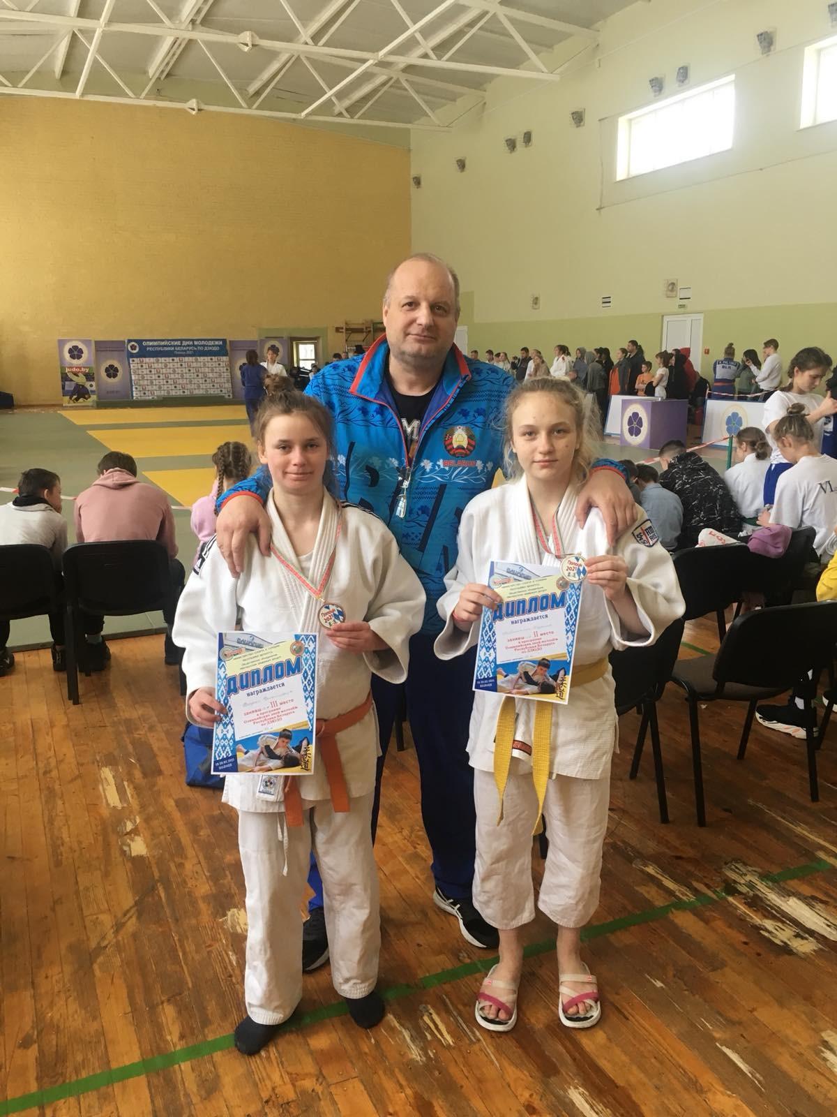 Бобруйчане внесли весомый вклад в победу сборной области на Олимпийских днях молодежи Беларуси по дзюдо
