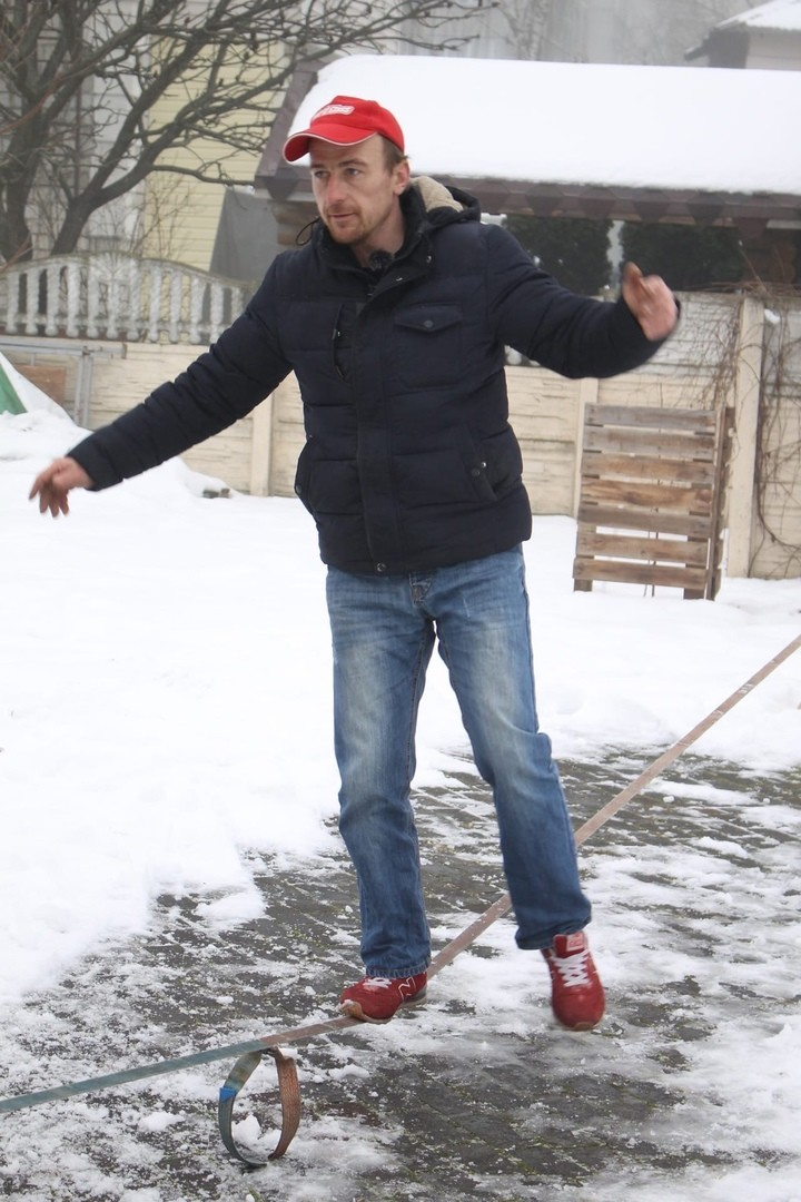 27 февраля в Бобруйске пройдет мастер-класс по слэклайну