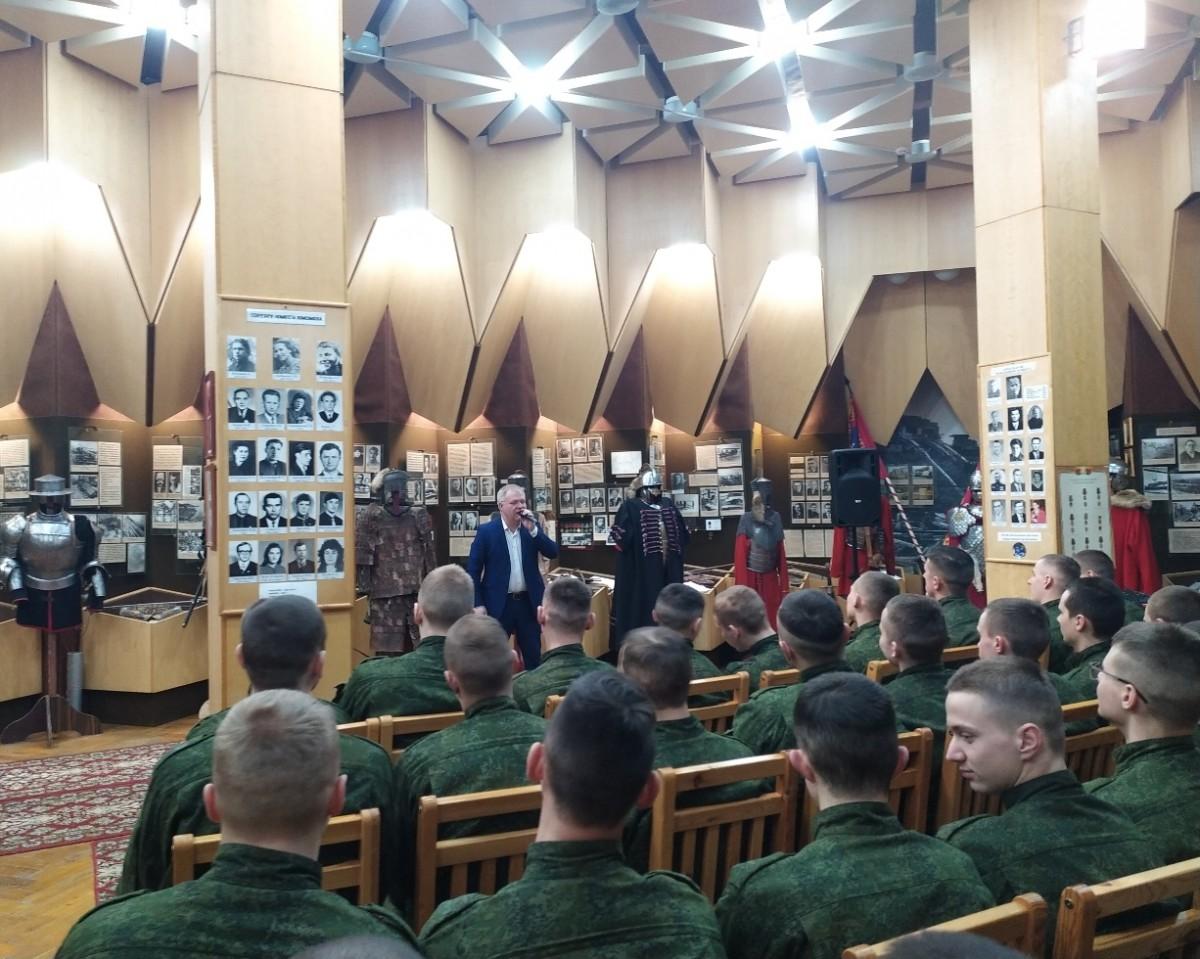 В Бобруйске прошел концерт для военнослужащих