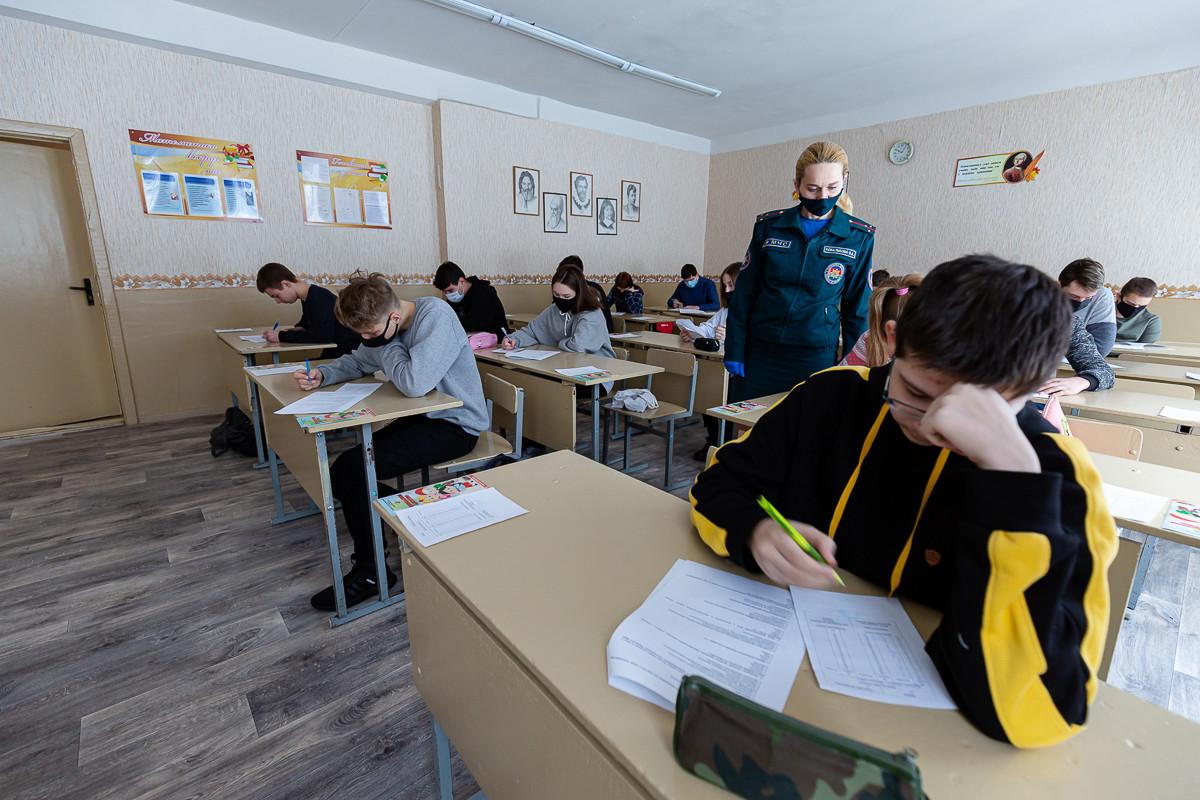 В Бобруйске прошел городской этап конкурса по основам безопасности жизнедеятельности «Школа безопасности»