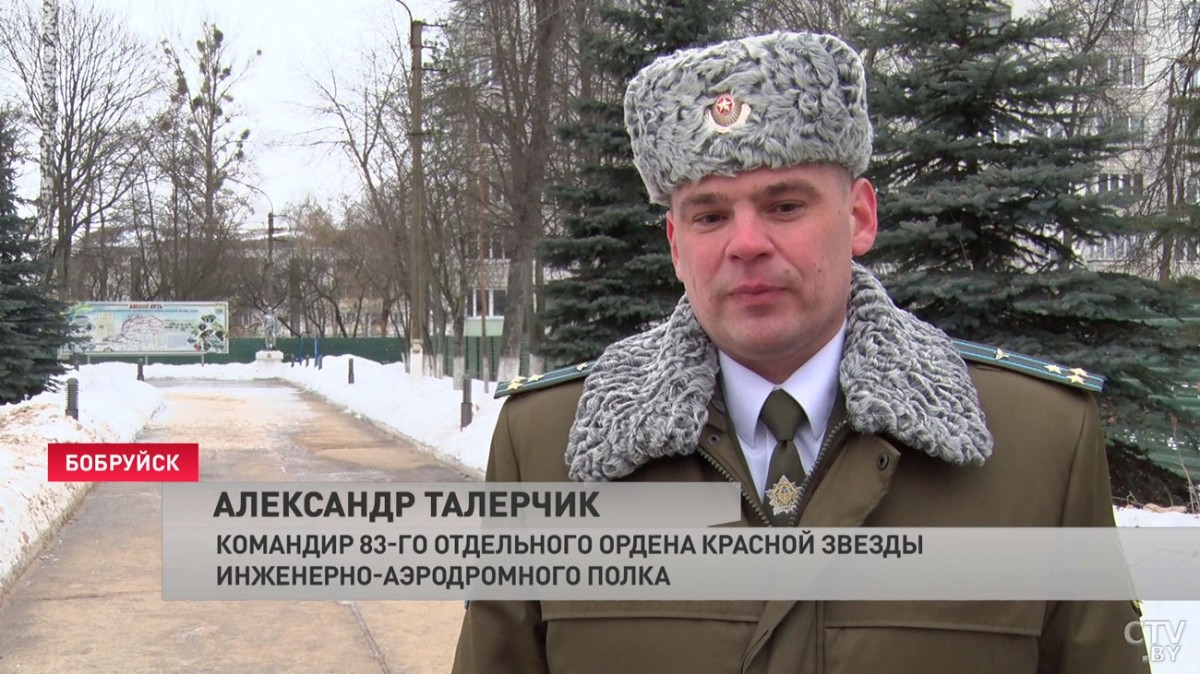 50 килограммов домашней выпечки подарили военнослужащим в Бобруйске