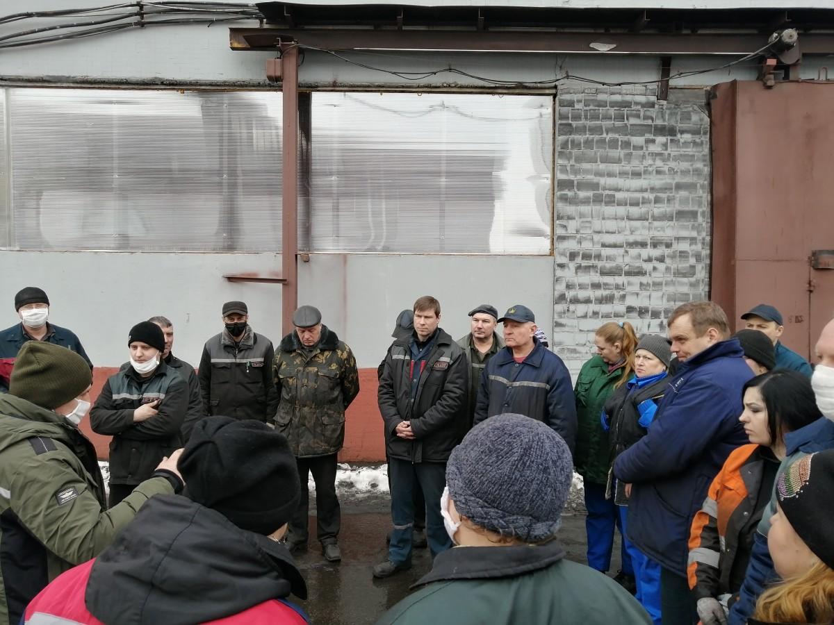 Состоялась встреча инспекторов Бобруйского межрайонного отдела и работников «ТАиМ» в рамках Единого дня безопасности